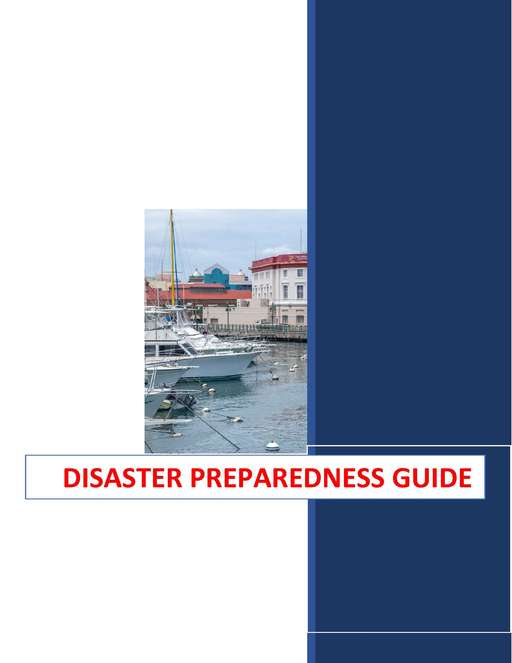 Saving Our Selves: A Disaster Preparedness Guide